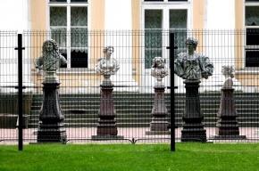Михайловский сад закрыли из-за корпоратива «Газпрома»