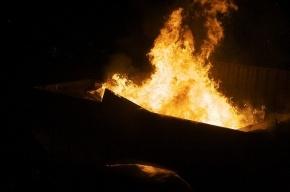 Пожар в Петербурге: погибла девушка в декоративном цеху