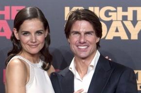 Кэти Холмс получит за развод с Томом Крузом не менее 18 млн долларов