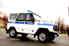 Водитель иномарки сбил полицейского в Пушкине, сломав ему ногу