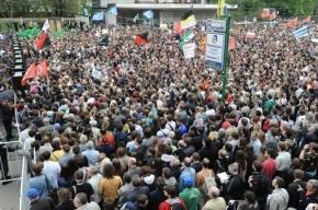 Петербургская оппозиция подала заявку на Марш миллионов