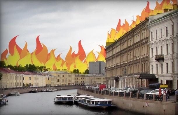 Кровли Петербурга отремонтировали, но теперь они опасны для жизни