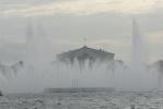 Плавучий фонтан, Нева, стрелка: Фоторепортаж