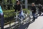 Фоторепортаж: «Бесплатные велосипеды в Таврическом саду »