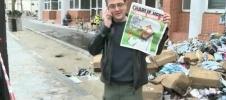 Фоторепортаж: «Французский журнал опубликовал карикатуры на пророка Мухаммеда»