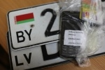 Похитители автомобильных номеров: Фоторепортаж