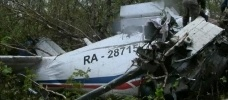Ан-28 разбился на Камчатке: Фоторепортаж