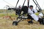 Фоторепортаж: «Путин летит за журавлями»