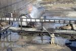 Фоторепортаж: «Пожар в ХМАО»