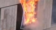 Pussy Riot сожгли портрет Путина: Фоторепортаж