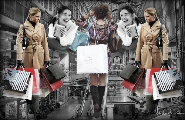 Все больше петербуржцев приобретают зависимость от торговых центров