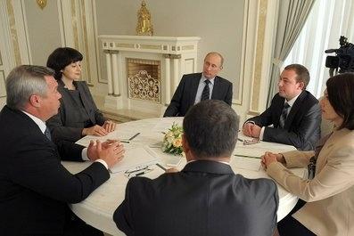 Путин в Ростове, 14 сентября 2012: Фото