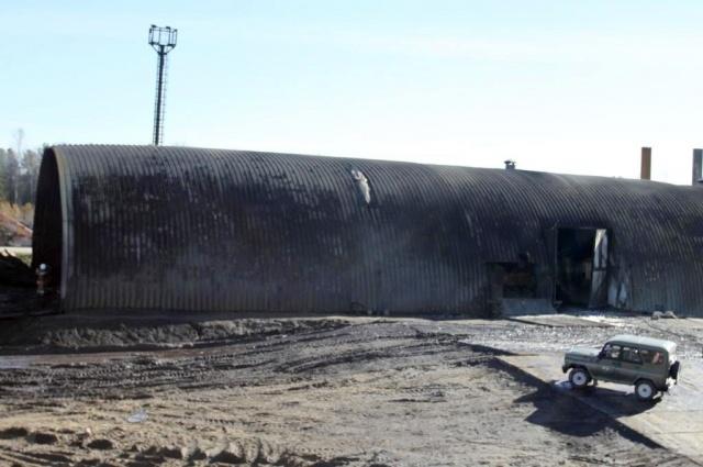 Пожар в ХМАО: Фото