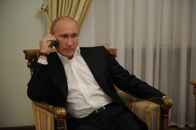 Путин смотрит дзюдо: Фото