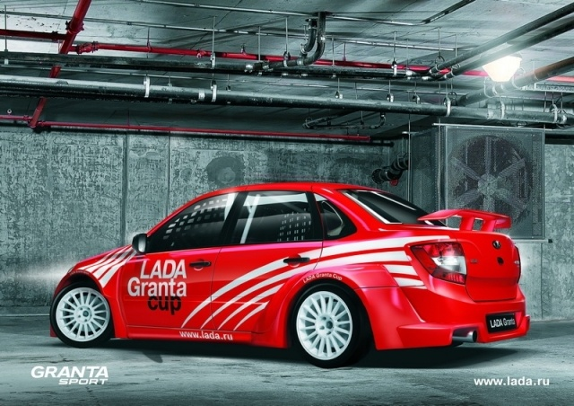 Лада Гранта Спорт (Lada Granta Sport): Фото