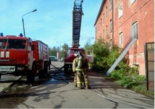 Пожар в Егорьевске 11.09.2012: Фото