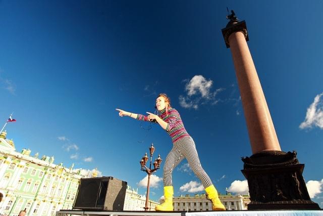 Пазл на Дворцовой: Фото