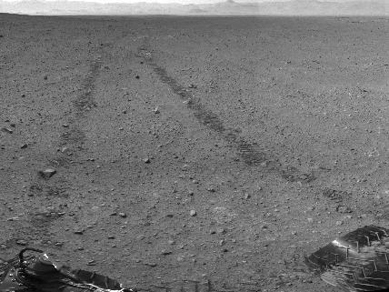 Марсоход Curiosity сделал автопортрет: Фото
