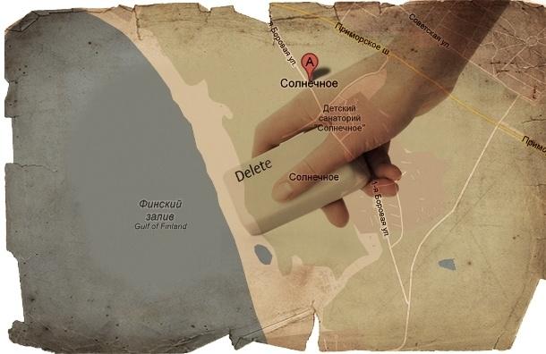 Под Петербургом захватили озеро и стерли его с карты