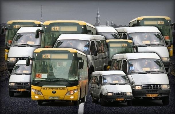Неадекватные маршрутки исчезают с улиц Петербурга