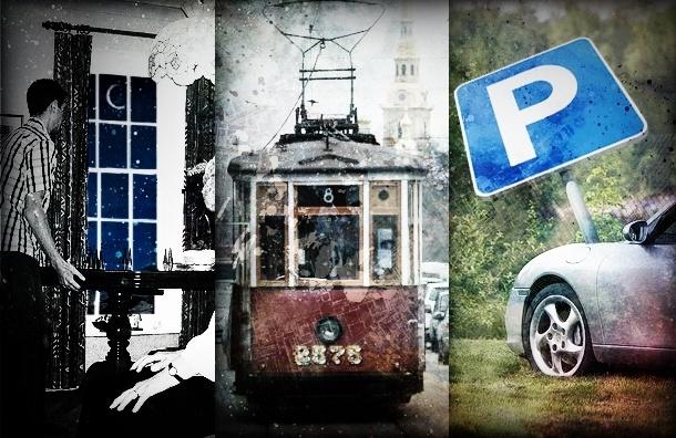 Новые правила жизни в Петербурге: хамоватым водителям все газоны