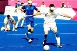Паралимпиада 2012: Россия обыграла Бразилию в футбол и вышла в финал