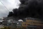 Пожар прервал работу сотрудников «Яндекса»