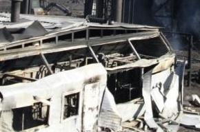 Названа причина пожара на нефтезаводе в ХМАО (Кадры с места)