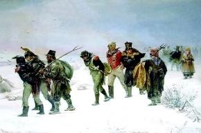 На набережной канала Грибоедова развесят картины о войне 1812 года
