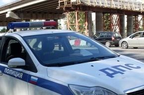 За пару часов две машины полиции Петербурга попали в ДТП
