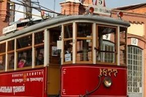 День рождения трамвая отметили парадом ретро-моделей (Кадры)