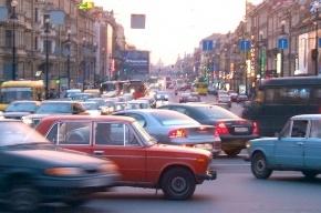 На Невском не работают светофоры: адские пробки