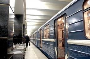 На «Проспекте Ветеранов» задымился поезд метро