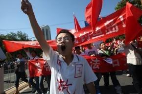 Беспорядки привели к закрытию заводов Сanon и Panasonic в Китае