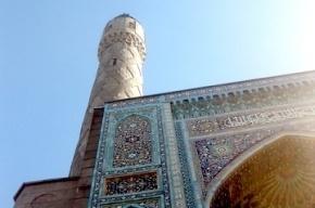 С минарета Соборной мечети обрушилось несколько глыб гранита