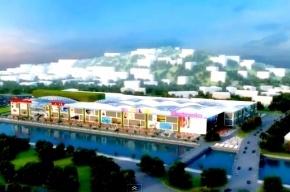 В Сочи горит крупнейший торговый центр на Кубани, который должны были открыть на днях