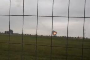 Самолет L-39 разбился на авиашоу (кадры очевидцев)