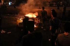 Из-за фестиваля MTV в Мадриде молодежь забросала полицию бутылками