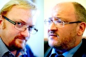 Депутаты петербургского парламента поспорили о свиньях, бесах и епископах