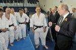 Путин дзюдо: Фоторепортаж
