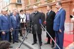 Фоторепортаж: «Полтавченко и Миллер, офис Газпрома, 5 октября 2012»