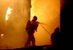 Пожар в Шушарах: Фоторепортаж