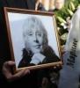 Фоторепортаж: «Прощание с Мариной Голуб 13 октября »
