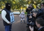 Акция в защиту Pussy Riot, 1 октября 2012: Фоторепортаж
