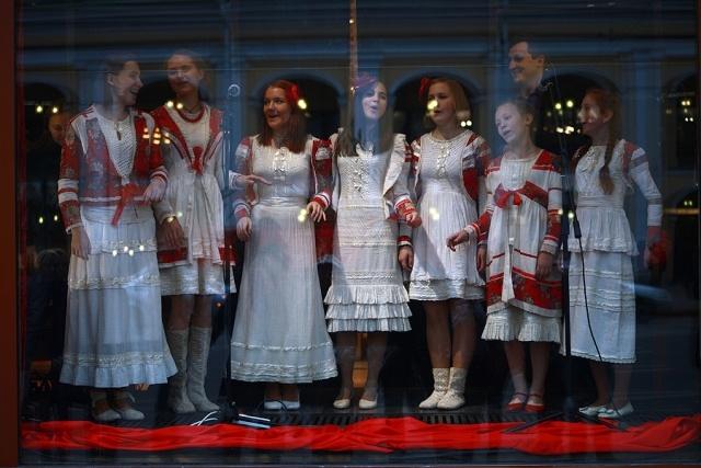 """Акция поддержки """"Битва хоров"""": Фото"""