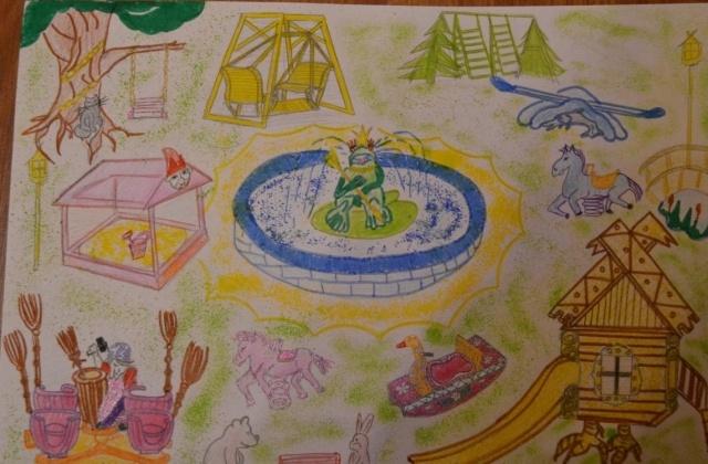 Детская площадка мечты: Фото