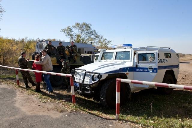 Взрывы снарядов под Оренбургом 9 октября 2012: Фото
