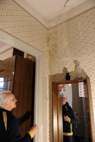 Крыша на Большом Сампсониевском, 70 течет уже два года: Фото
