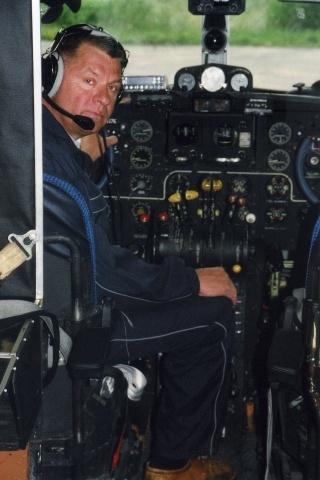 Александр Поддубный, самолет ИЛ-14: Фото