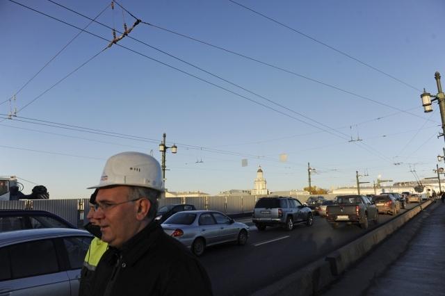 Ремонт Дворцовый мост : Фото